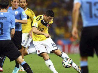 Colombia vs Uruguay en vivo Mundial 2014