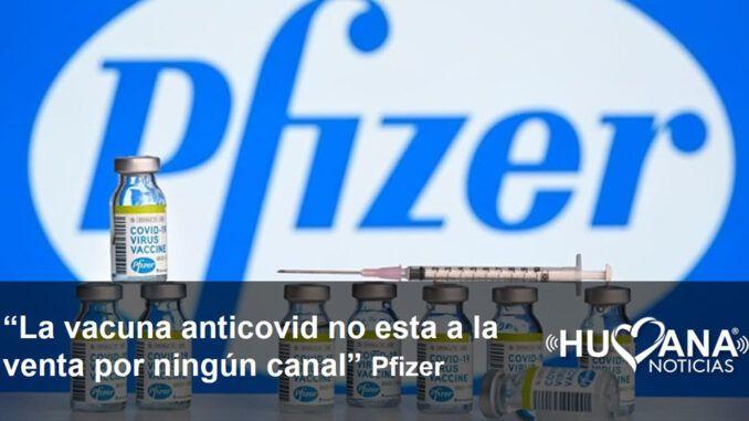 Pfizer anunció que por ahora no tiene prevista la venta de la vacuna del covid-19 a privados