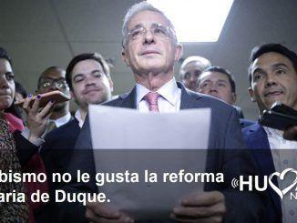 uribismo reforma tributaria