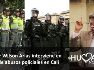 Wilson Arias interviene en abusos policiales en cali