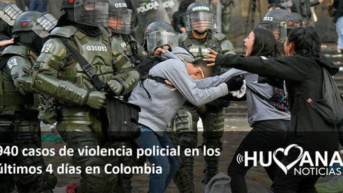 violencia policial colombia